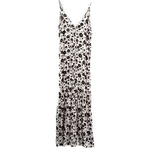 (S) Forever21 Contemporary Floral Maxi Dress